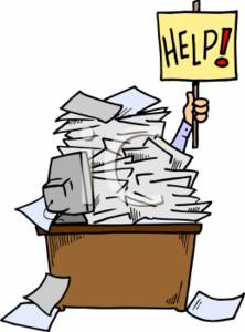 0511-0702-0211-2547_Businessman_Holding_a_Help_Sign_Up_Under_a_Pile_of_Papers_clipart_image[1]